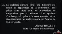 Citation d'aldous Huxley