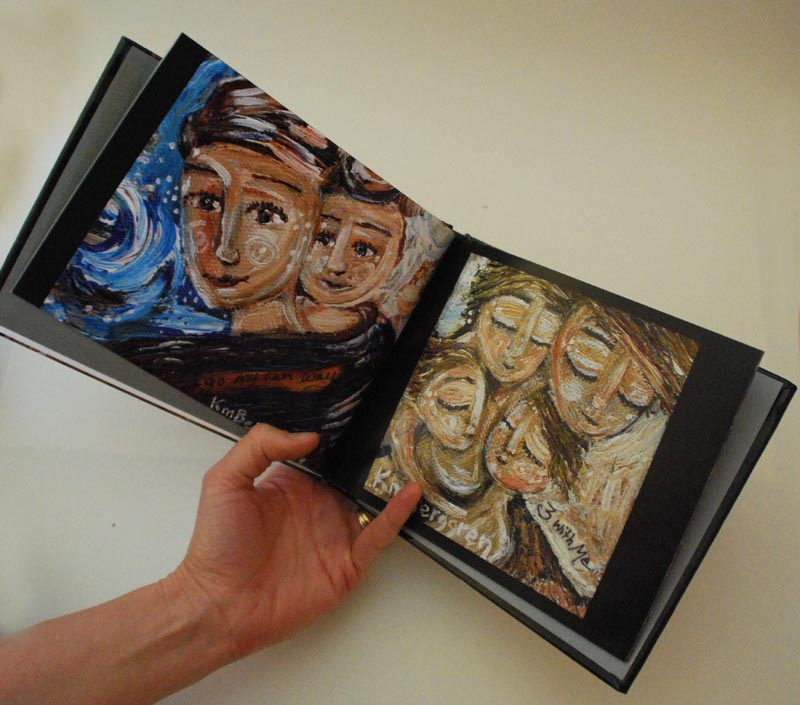 Coffee Table Art Books: Painting Intimate Moments Of Motherhood: Mother And Child