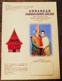 Contoh Isi Surat Undangan Pernikahan Versi Bahasa Batak Dan Bagian Suratnya