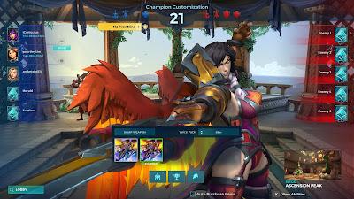 Paladins champion select - Furia