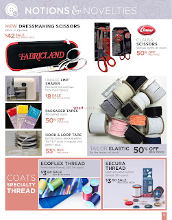Fabricland Flyer April 2 – 27, 2018