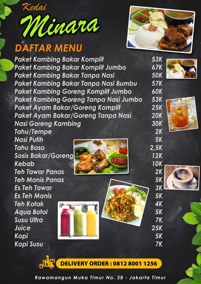 Desain Daftar menu Rumah Makan Yang Indah Dan Menggugah Selera