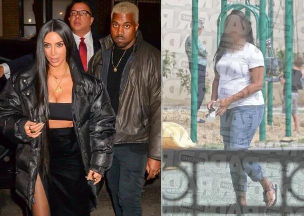 Kim Kardashian and Kanye West's Surrogate Revealed (Photos)