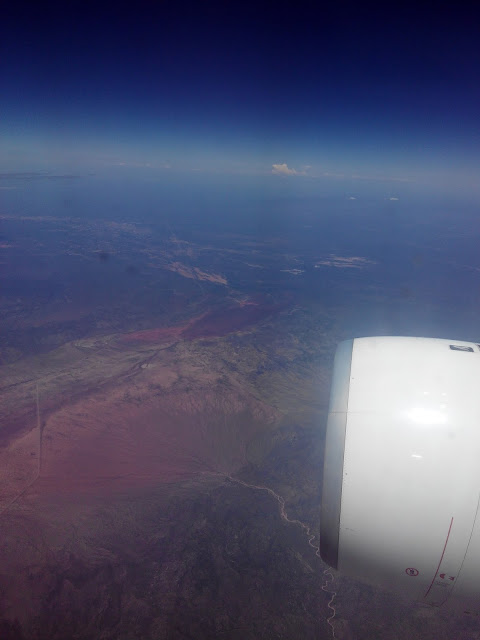 La Rioja (Argentina) desde el aire