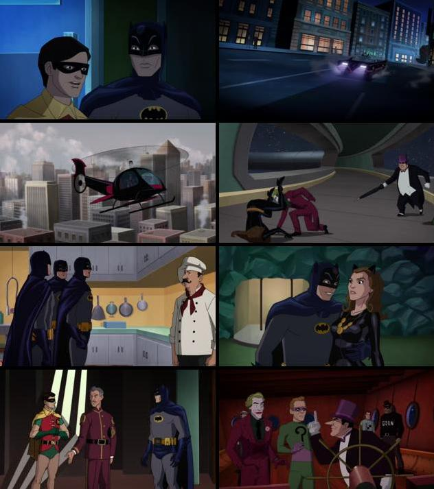 Batman Return of the Caped Crusaders 2016 English 720p WEB-DL 600MB ESubs