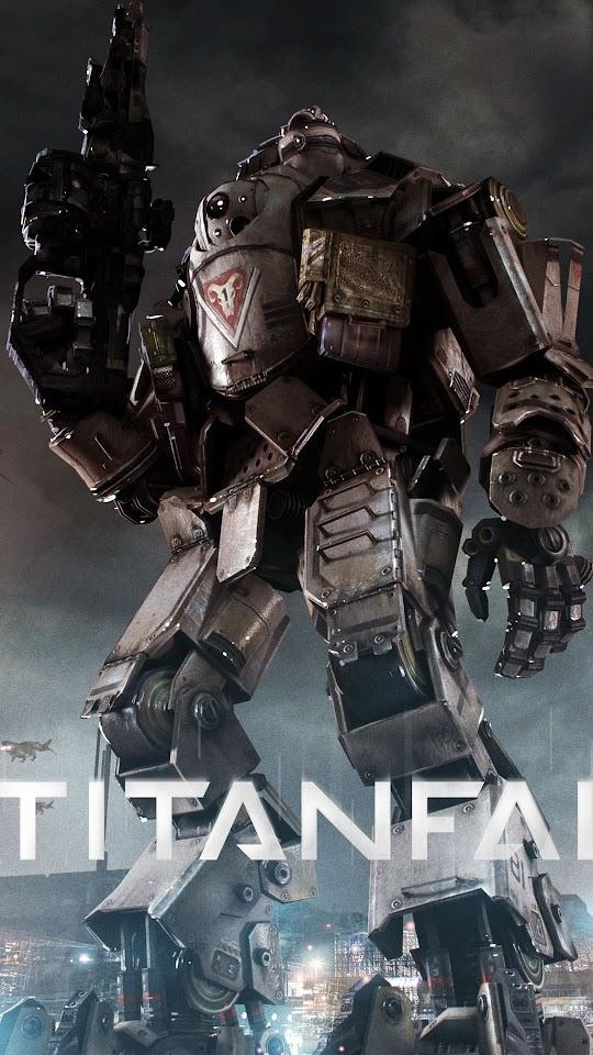 Titanfall Game Titan  Galaxy Note HD Wallpaper