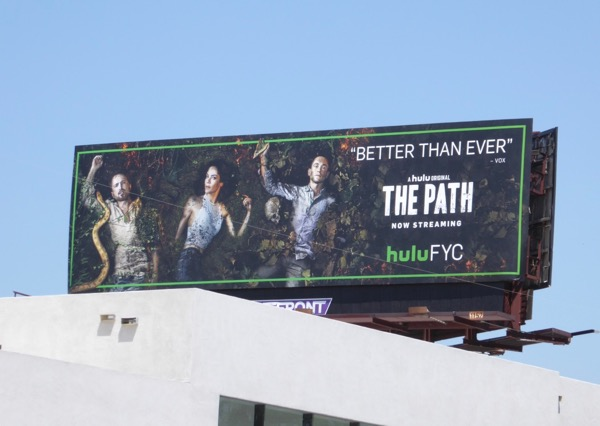 The Path 2017 Emmy billboard