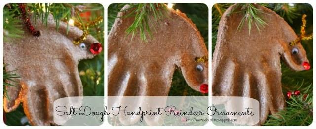 Handprint Reindeer