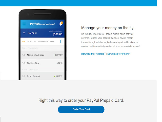 Get $1000 to Spend with a Paypal Prepaid Card - Ehar Mony