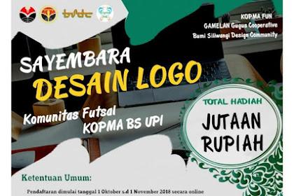 Lomba Sayembara Desain Logo 2018 Hadiah Jutaan Rupiah