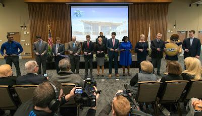 University of Illinois Springfield cuts ribbon on new $21.75 million Student Union Building