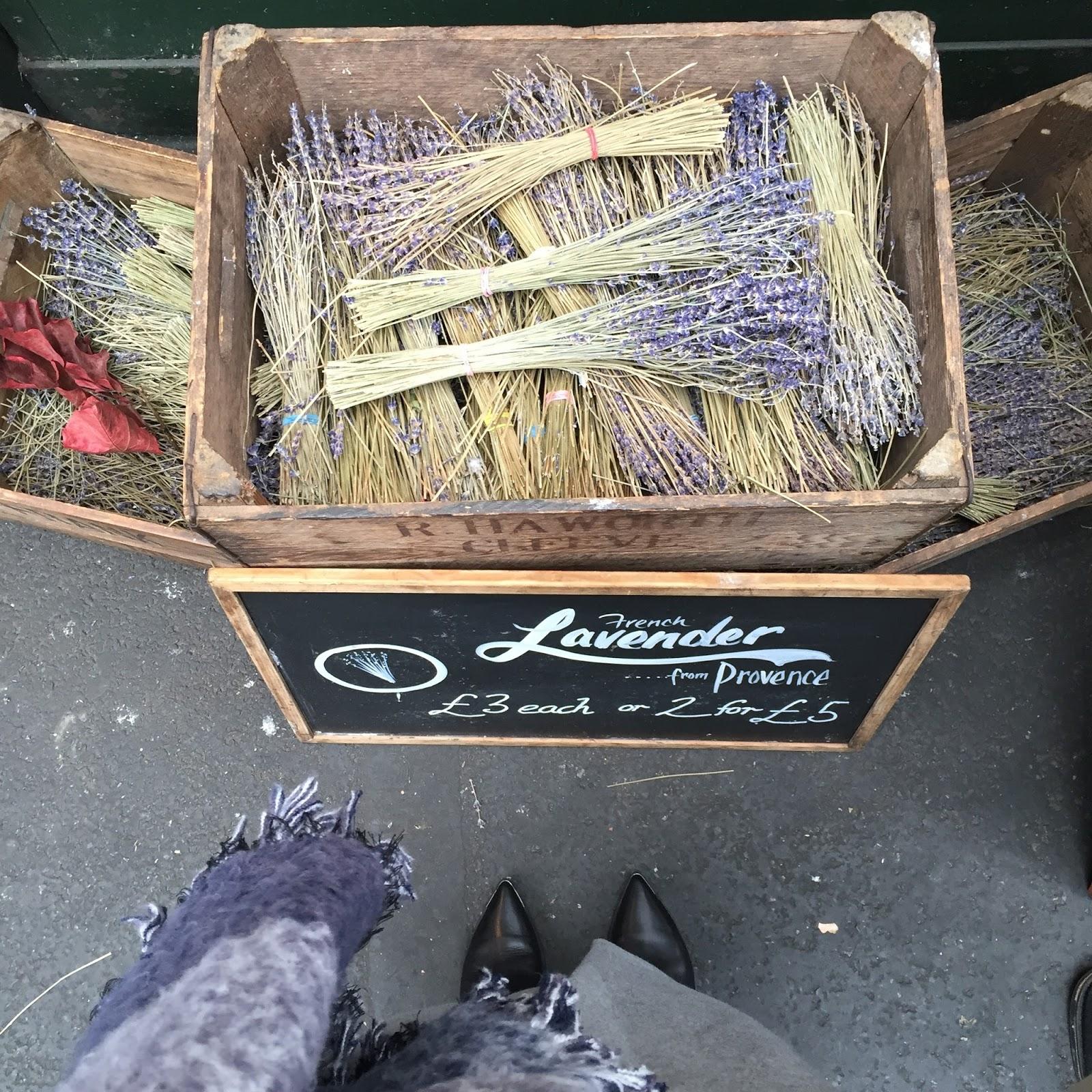 lavender for sale in borough market