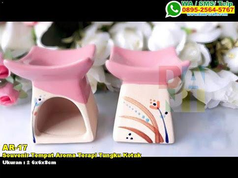 Souvenir Tempat Aroma Terapi Tungku Kotak