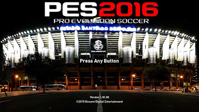 PES 2016 Graphic Menu Real Madrid By Fendi