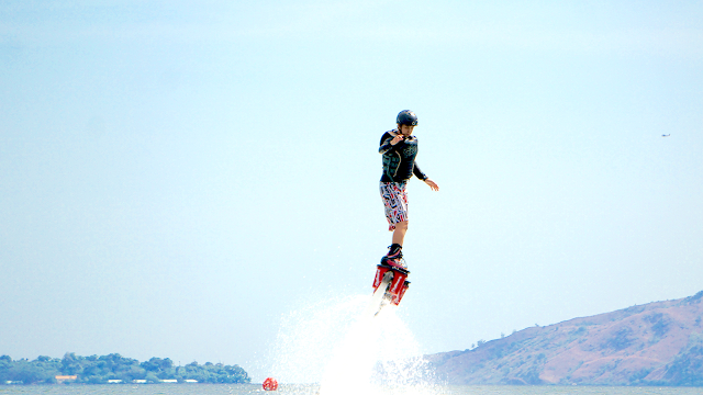 flyboarding in subic