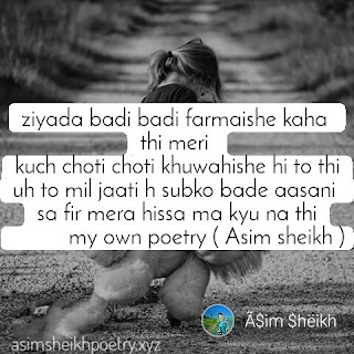 Sad Shayari On Zindagi