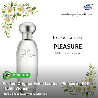 toko parfum asli parfum original estee lauder pleasure edp 100ml woman