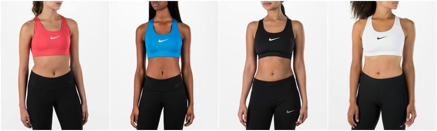 Nike Pro Classic Swoosh Padded Bra $16-$24 (reg $30)