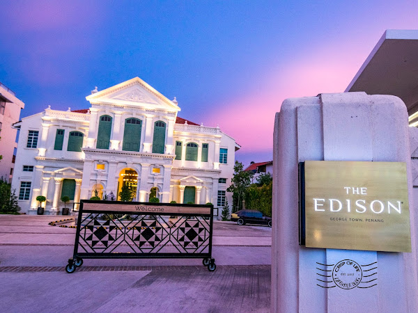 The Edison Hotel, Penang - Types of Rooms and Stunning Architectures