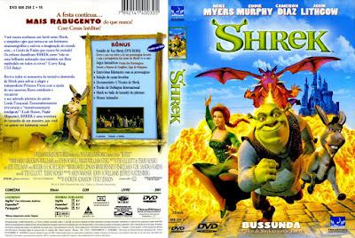 Filme Shrek DVD Capa