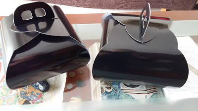 caja negra plastificado brillo