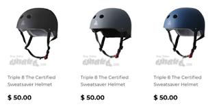 Triple8 skateboard helmet swatsaver