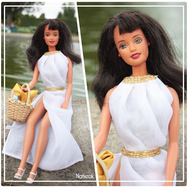 robe de plage élégante pour barbie