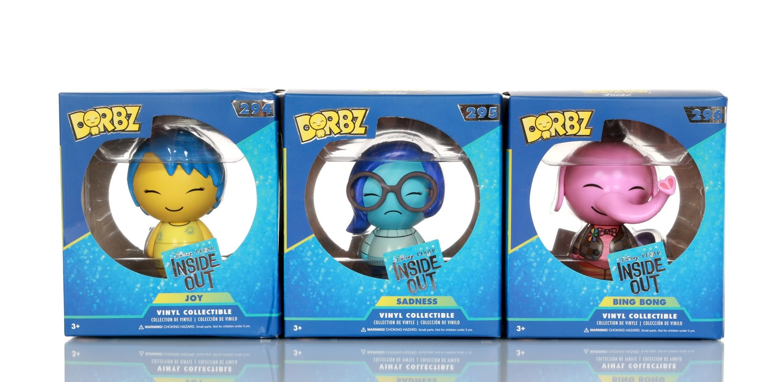 pixar funko dorbz inside out