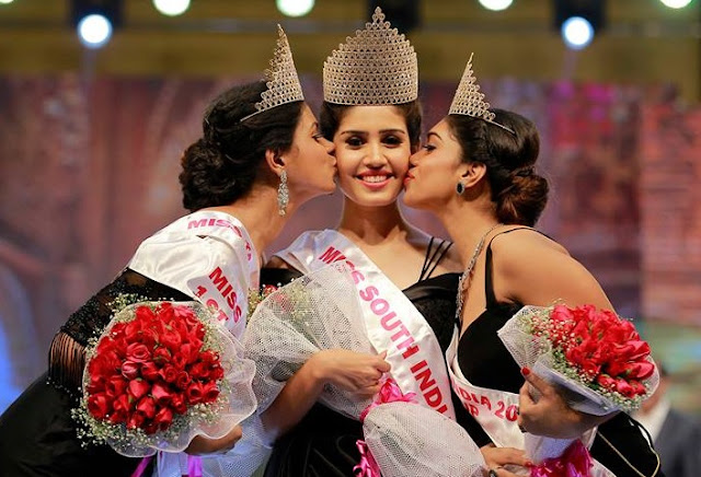 Winners of Miss South India 2018
