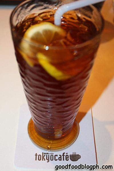 Iced+Tea - Westernized Japanese Restaurant - Tokyo Cafe