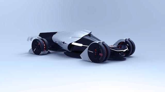 Tesla T1, conceito de carro elétrico com turbinas impressas em 3D