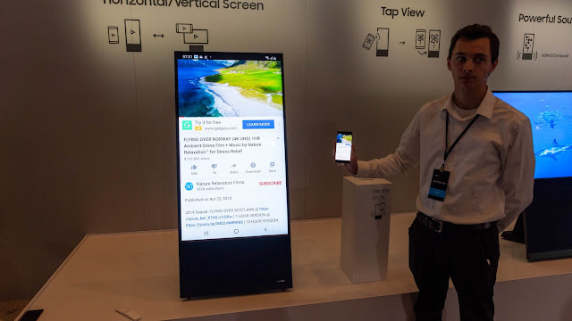 The Sero 可以透過無線連接,直接將手機畫面投射到電視上