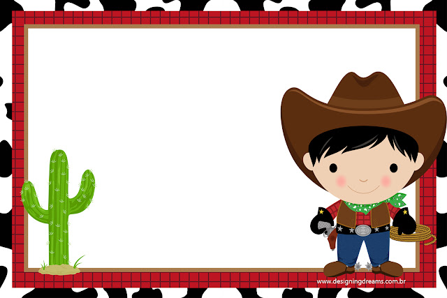 Cowboy babies, Free Printable Invitations, Labels or Cards.