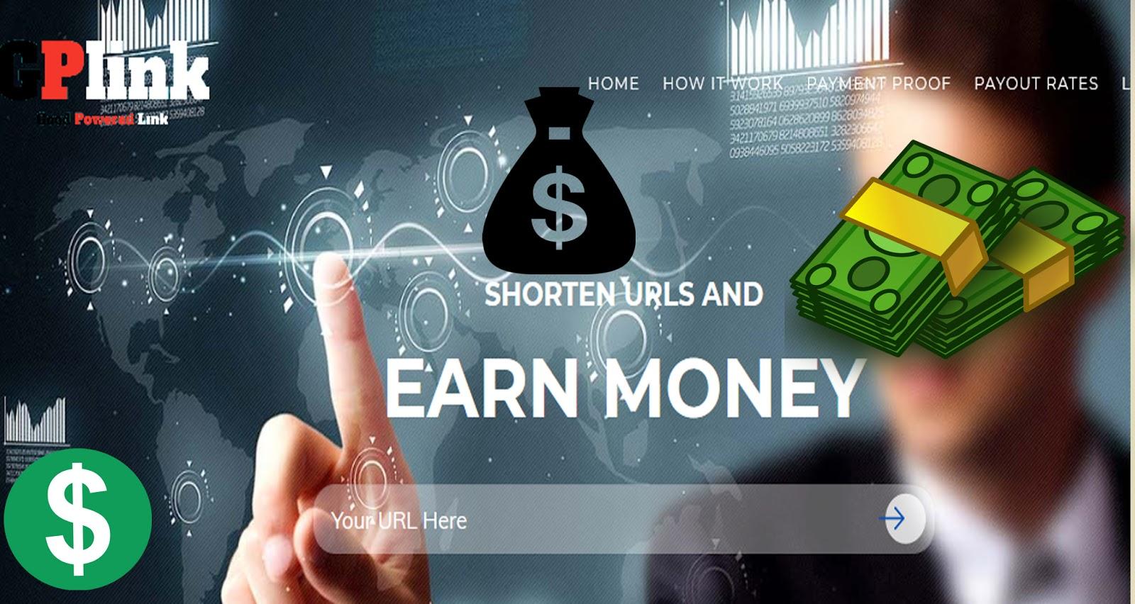 How to Make Money from GPlink URL Shortener 2019 - Make On Best