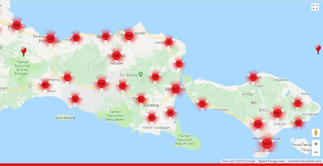 maps wifi id, lokasi wifi id