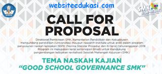 Proposal Program Penyusunan Naskah Kebijakan 2019
