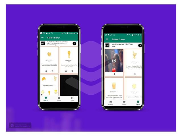 Whatsapp Status Saver - Mobile Apps   CodeGrape