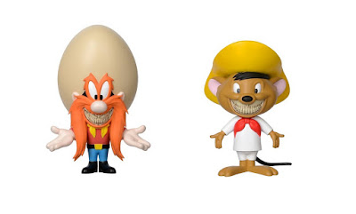 San Diego Comic-Con 2018 Exclusive Looney Tunes Grin Speedy Gonzales & Yosemite Sam SFBI Vinyl Figures by Ron English