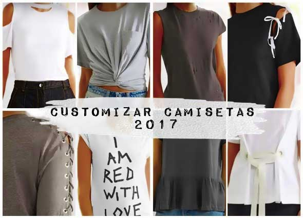 camisetas, shirts, tunear, customizar, bricomoda