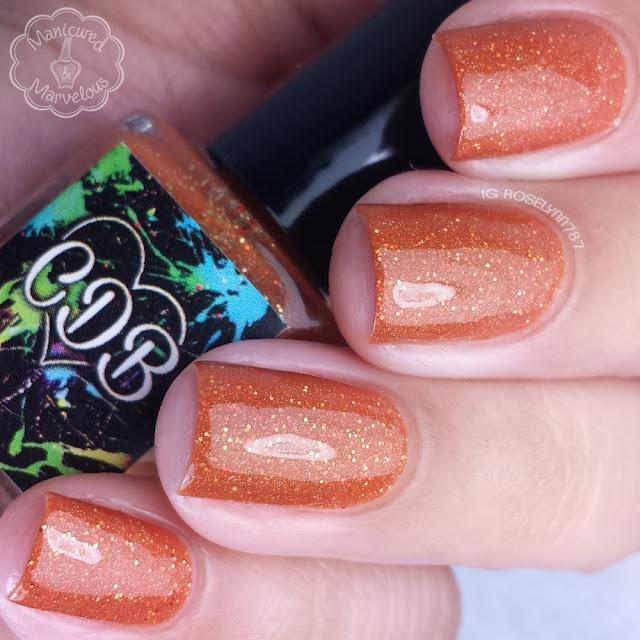 CDB Lacquer - Sweet Pumpkin Spice