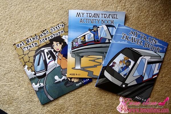 "Buku aktiviti ""My Train-Ventures"""
