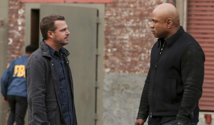 NCIS: Los Angeles - Episode 8.23 - Uncaged - Promo, 2 Sneak Peeks, Promotional Photos & Press Release