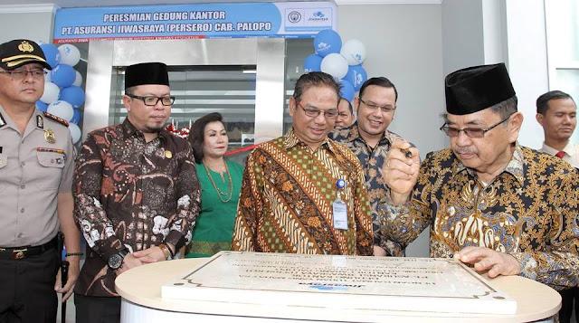 Wali Kota Resmikan Kantor Baru, PT Jiwasraya Palopo Resmi Berkantor Depan Polres