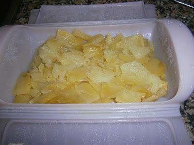 Cocina con xena tortilla de patatas al vapor en ba l l ku en microondas - Cocina al vapor microondas ...