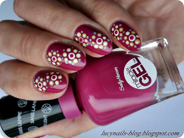 Sally Hansen Miracle Gel nr 509/345 Pink Stiletto