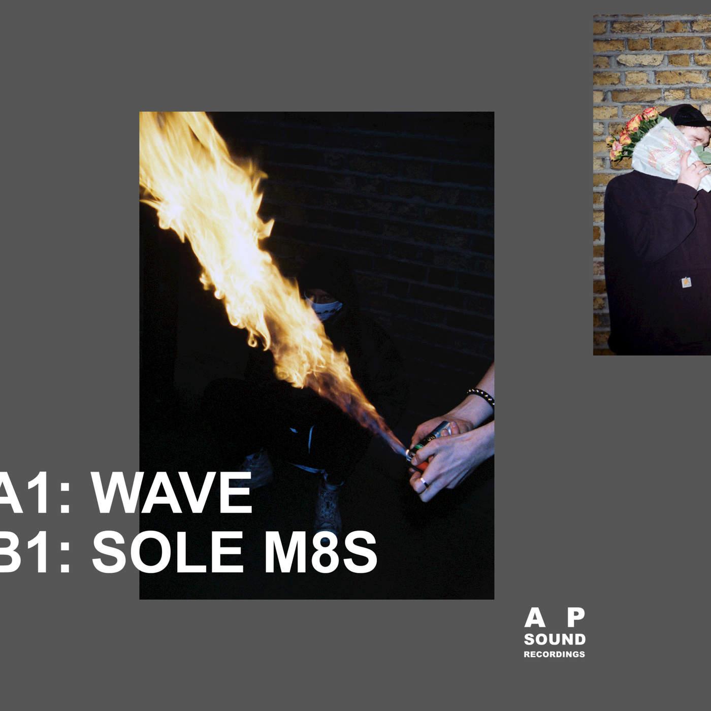 Mura Masa - Wave / Sole M8s - Single Cover