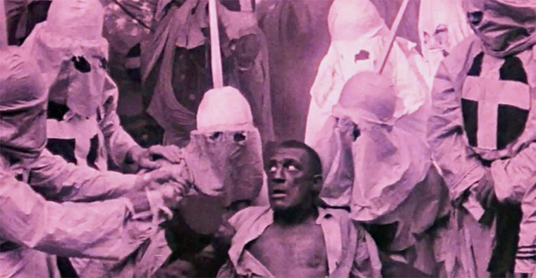 Walter Long in The Birth of a Nation (DW Griffith, 1915). Quelle: Screenshot Kino Lorber DVD