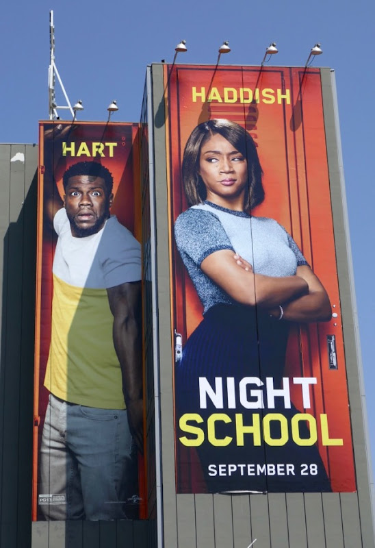 Giant Night School movie billboard