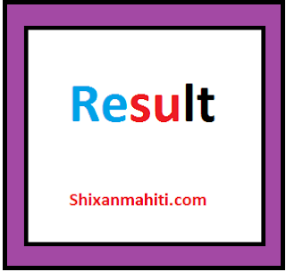 Gunotsav 8 - 2018 Official Result Decalred