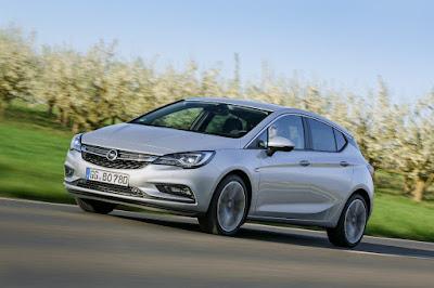 το νέο Opel Astra BiTurbo Hatchback